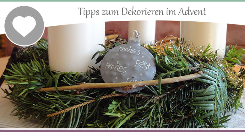 Advent-Dekotipps