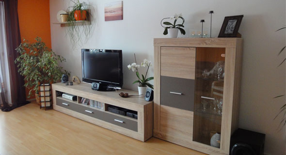 Wohnzimmer-Umgestaltung