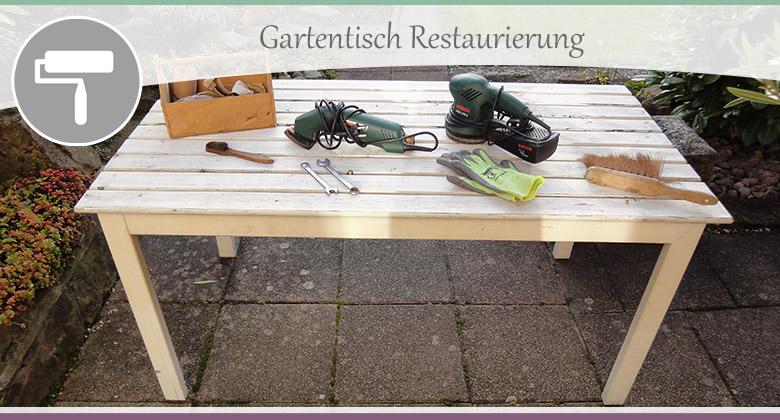 Gartentisch Restaurierung-1