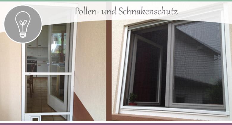 Pollen- und Schnakenschutz