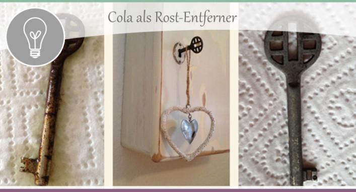 tipp rost mit cola entfernen wohncore. Black Bedroom Furniture Sets. Home Design Ideas
