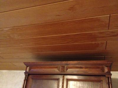 Wohnzimmer-Decke-putzen