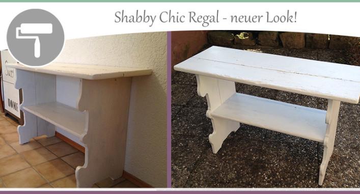 Shabby-Chic-Regal-neuer-Look