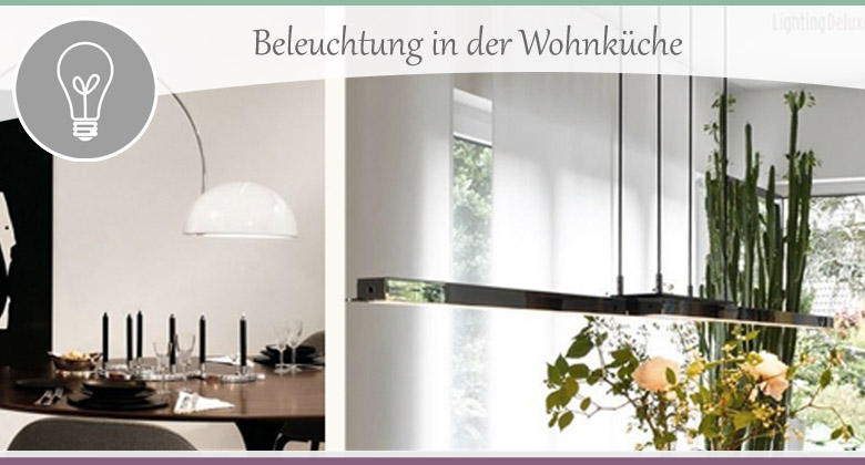 beleuchtung in der wohnk che tipps und informationen. Black Bedroom Furniture Sets. Home Design Ideas