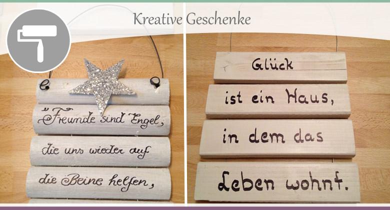 Kreative-Geschenke