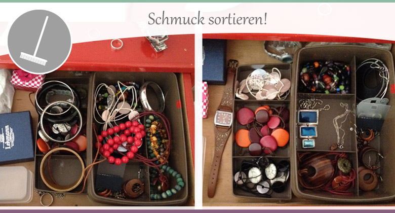 Schmuck-Sortieren