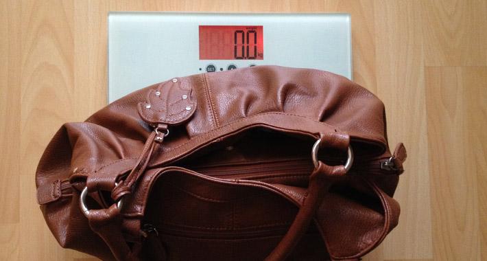 Tasche Gewicht