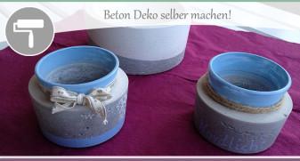 Beton-Deko-selber-machen