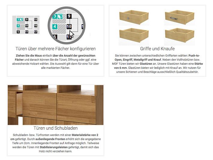 Möbel türen nach maß  Pickawood Möbel - Testbericht › wohncore