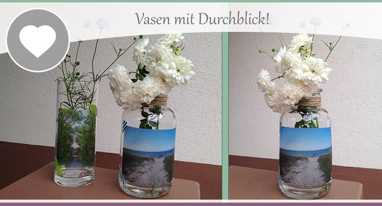 Fotos auf glas diy dekoration mit transparentpapier - Dekoration fotos ...