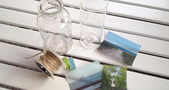 fotos auf glas diy dekoration mit transparentpapier wohncore. Black Bedroom Furniture Sets. Home Design Ideas