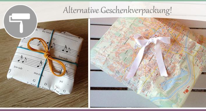 Alternative-Geschenkverpackung