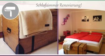 Schlafzimmer-Renovierung