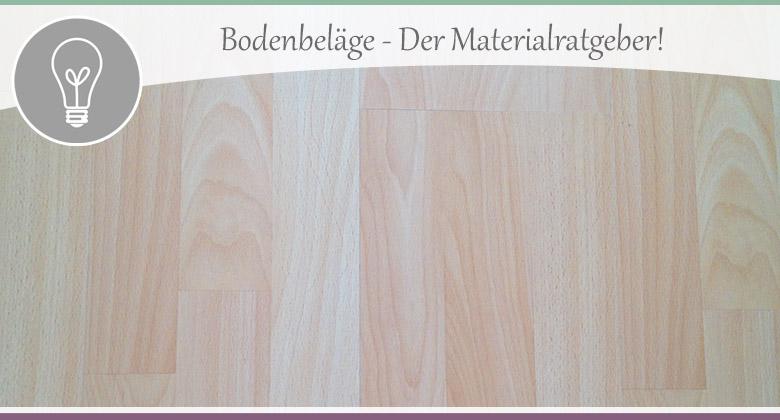 Bodenbeläge - Vor- und Nachteile der Materialien im Überblick ...