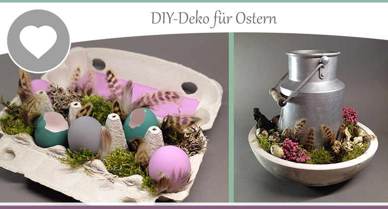 osterdeko 4 diy deko ideen zum osterbasteln wohncore wohncore. Black Bedroom Furniture Sets. Home Design Ideas