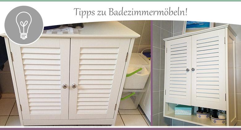 Badmöbel - Tipps zu Materialien, Einrichtung und Co. - wohncore wohncore
