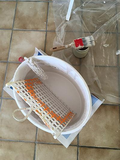 Farbe um kuche zu streichen