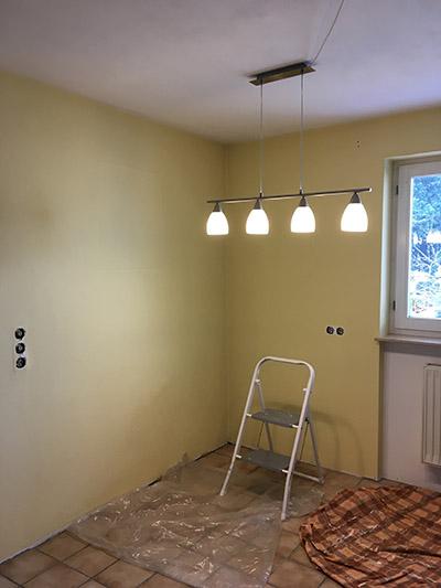 k che streichen und umgestalten tipps und inspirationen update wohncore. Black Bedroom Furniture Sets. Home Design Ideas