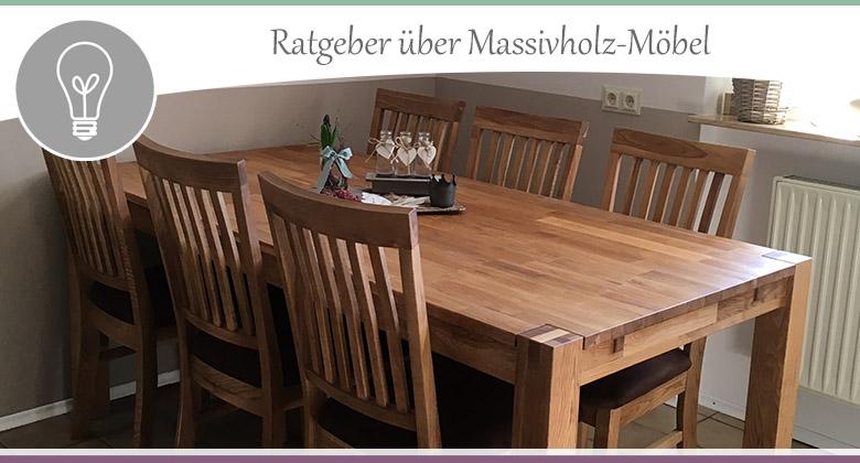Massivholz-Moebel