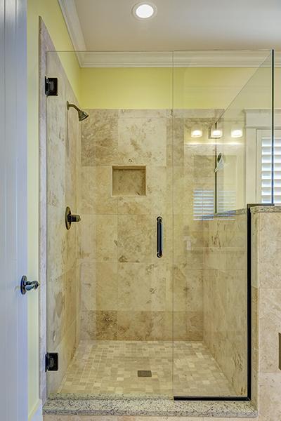 duschkabine - Granit Ruckwand Dusche