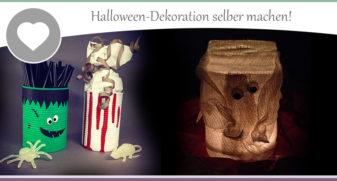Halloween Deko Selber Machen U2013 3 Anregungen Für Gruselige Ergebnisse