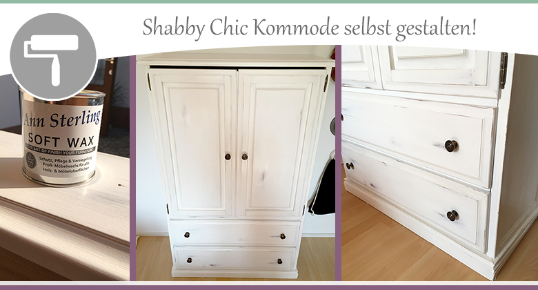 Shabby-Chic-Kommode