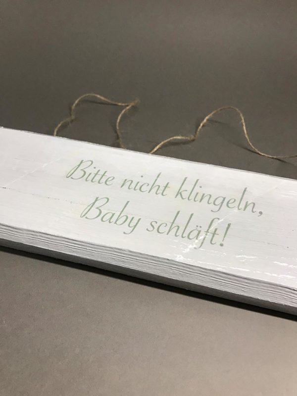 Holzschild-baby-schläft_02